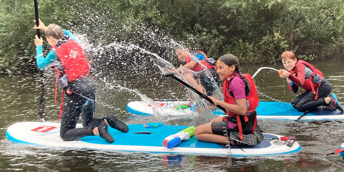Paddleboarding Adventures Family Activities River Wye