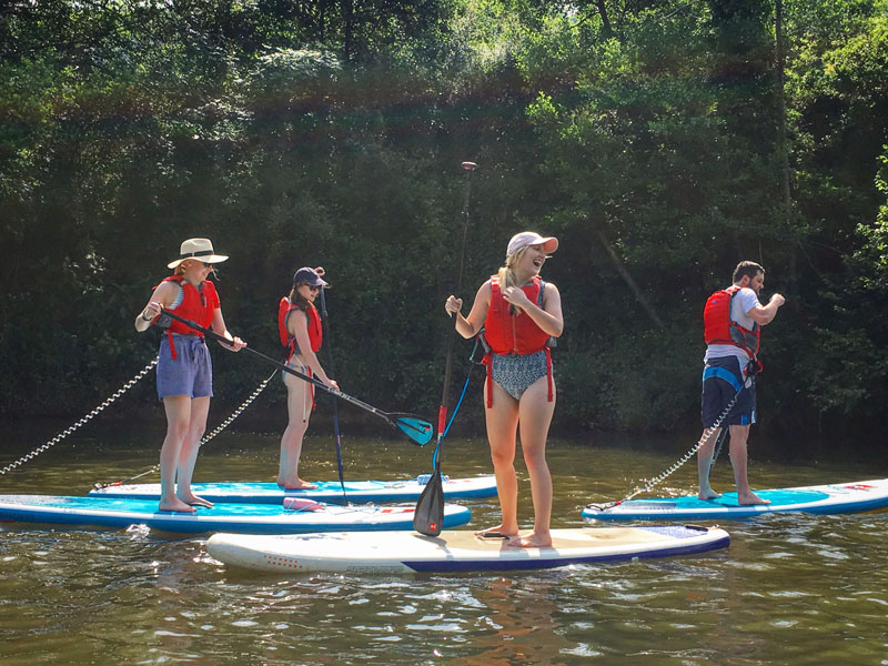 Paddleboard and Picnic Days Out on the River Wye