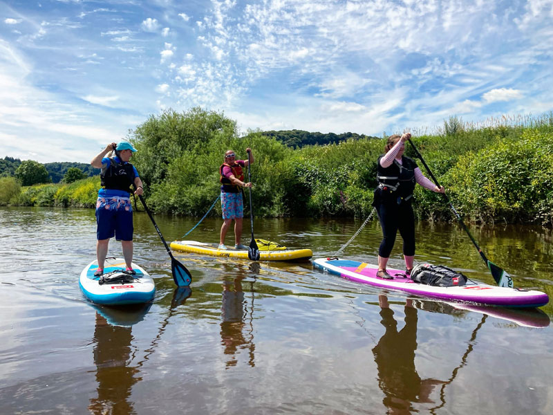 River Wye Paddleboarding Wildlife Safari Adventures
