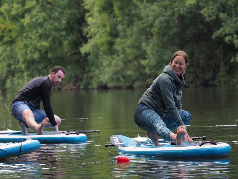 River Wye Paddleboard Yoga Sessions