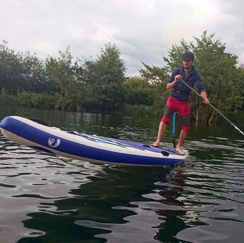 River Wye Paddleboarding Adventures Aaron Sampson