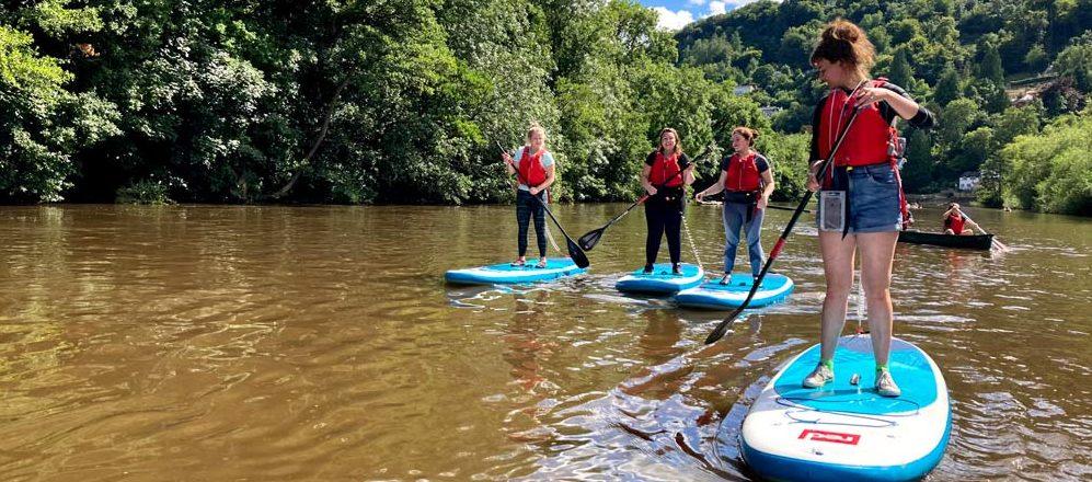 River Wye Paddleboarding Adventures Days Out Symonds Yat