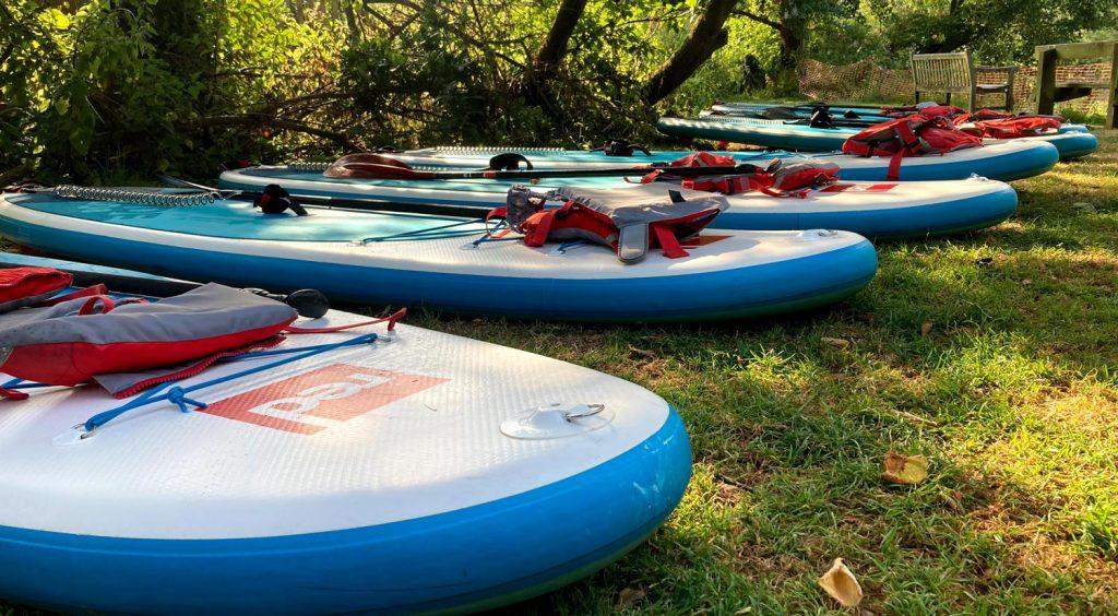 Way Valley Paddleboard Hire River Wye Symonds Yat