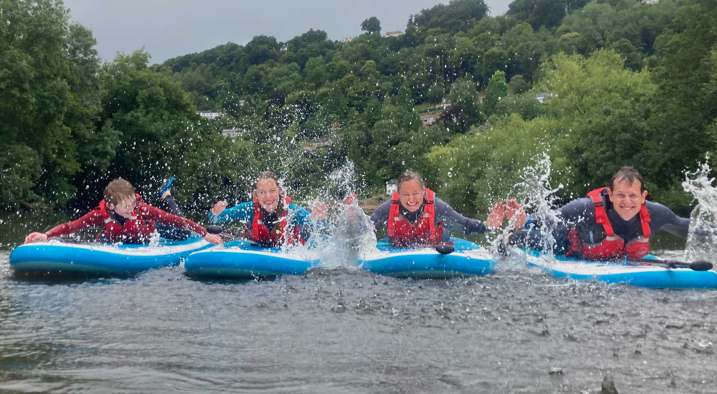 Family Paddleboarding Adventures on the River Wye