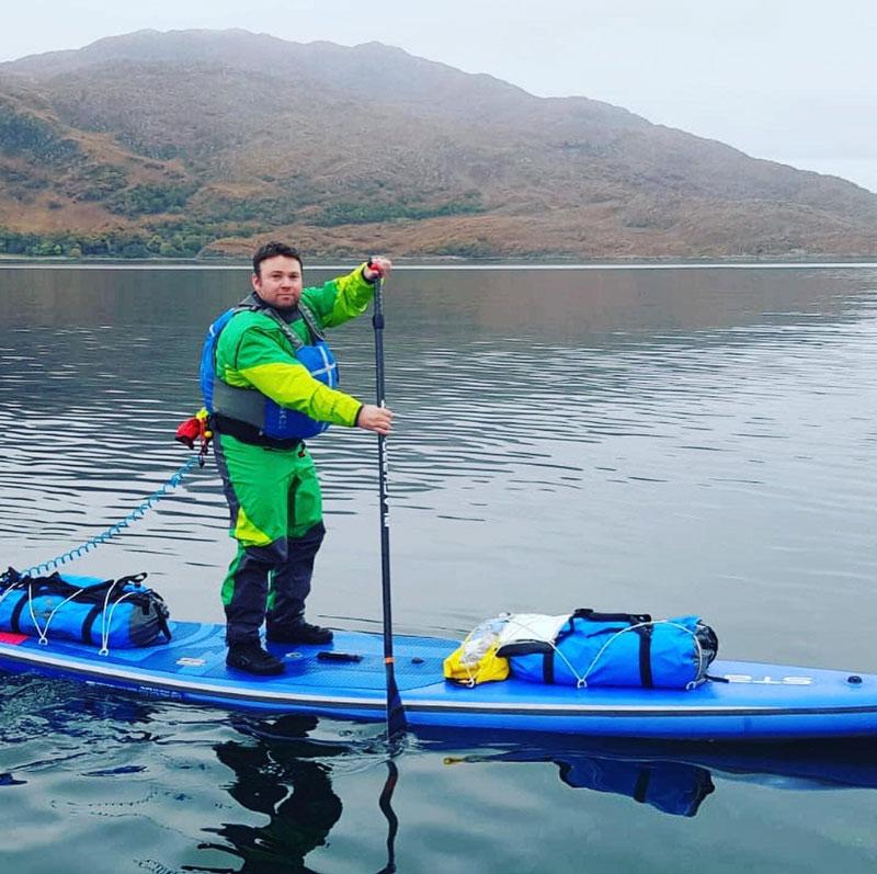River Wye Paddleboarding Adventures Sean Smithson